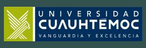 Logotipo de la universidad Cuauhtemoc.