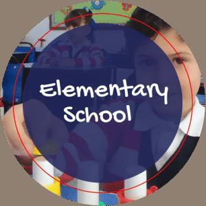 Imagen circular utilizada para la sección de Elementary School.